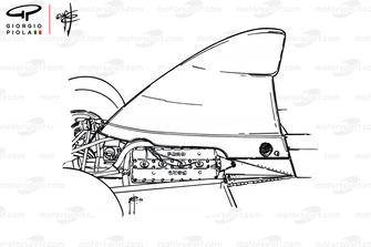 Воздухозаборник McLaren M23