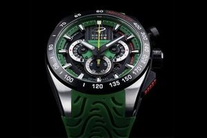 Giorgio Piola watch - Green