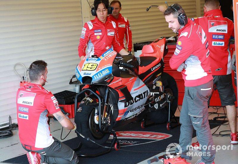 Le moto di Alvaro Bautista, Ducati Test Team