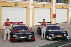 Mattias Ekström, Jamie Green, Audi RS 5 DTM Test Car