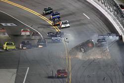 Crash de Christopher Bell, Kyle Busch Motorsports Toyota