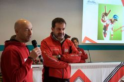 Giandomenico Basso, BRC, con Masimiliano Fissore