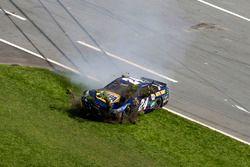 Crash de Chase Elliott, Hendrick Motorsports Chevrolet