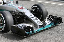 Frontflügel, Lewis Hamilton, Mercedes AMG F1 Team W07