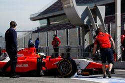 Jimmy Eriksson, Arden International returns to the pit lane