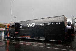 Van Amersfoort Racing trailer