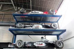 Autos McLaren F1 e Indycar