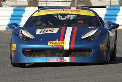 #105 Miller Motor Cars Ferrari 458: Rodney Randall
