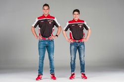 Michael Ruben Rinaldi e Leandro Mercado, Aruba.it Ducati SuperStock 1000 Junior Team