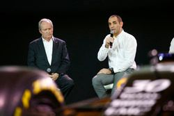 Jérôme Stoll, Président de Renault Sport Racing et Cyril Abiteboul, Directeur Général de Renault Sport Racing