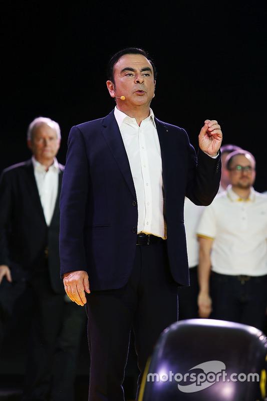 Carlos Ghosn, voorzitter Renault