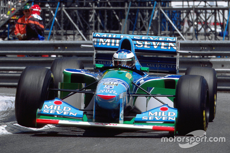 73 : Michael Schumacher, Benetton