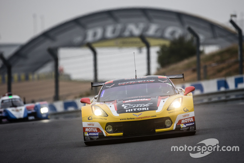 LMGTE Am: #50 Larbre Competition, Chevrolet Corvette C7-R