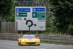 Ян Магнуссен, Антонио Гарсия, Рики Тейлор, #63 Corvette Racing Chevrolet Corvette C7-R
