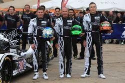 #30 Extreme Speed Motorsports Ligier JS P2 Nissan: Scott Sharp, Ed Brown, Johannes van Overbeek