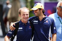 Felipe Nasr, Sauber F1 Team with Joseph Leberer, Sauber Physio