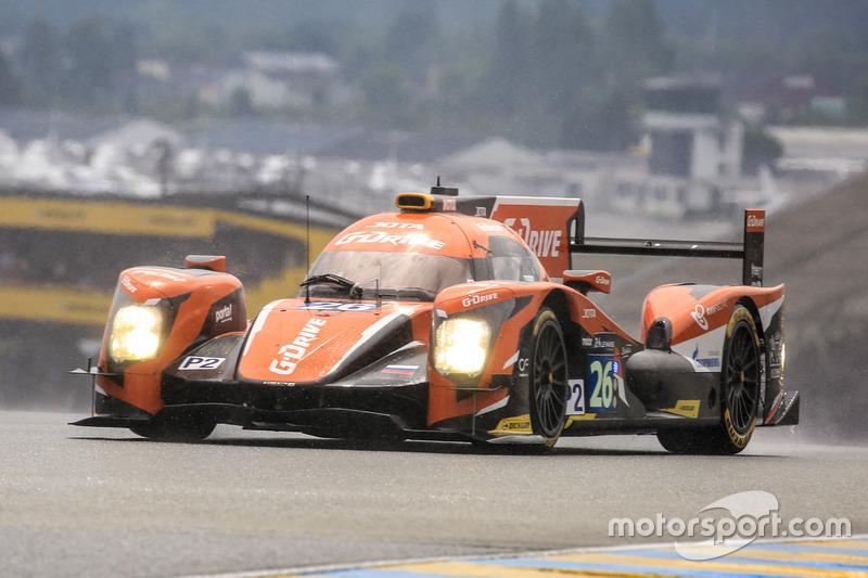 6th: #26 G-Drive Racing Oreca 05 Nissan: Roman Rusinov, Will Stevens, René Rast