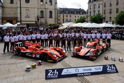 #38 G-Drive Racing BR01 - Nissan: Simon Dolan, Jake Dennis, Giedo Van der Garde, #26 G-Drive Racing