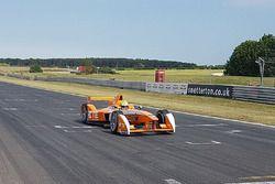 Andretti Autosport, üçüncü sezon otomobilini test ediyor