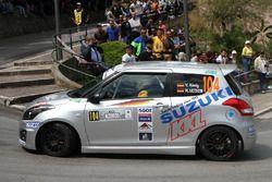 Veit Konig, Hans-Helmut Zappe, Suzuki Swift R R1B