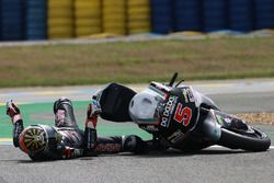 Johann Zarco, Ajo Motorsport crash