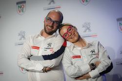 Anna Andreussi, Giuseppe Testa, Peugeot Sport Italia