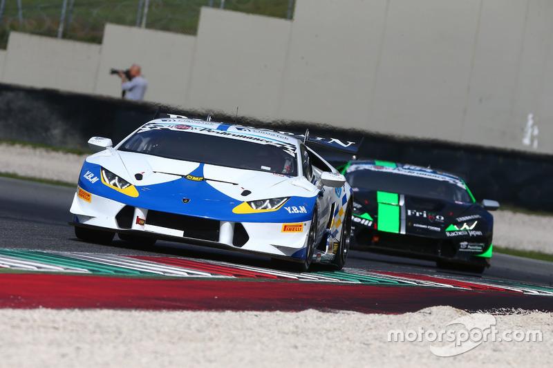 #105 Lamborghini Huracan S.GTCup, Vincenzo Sospiri Racing: Liang-Faccioni