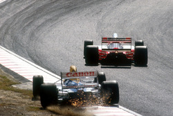 Найджел Мэнселл, Williams, и Айртон Сенна, McLaren