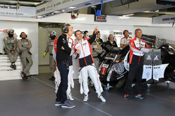 #1 Porsche Team, Porsche 919 Hybrid: Brendon Hartley, #2 Porsche Team, Porsche 919 Hybrid: Romain Du