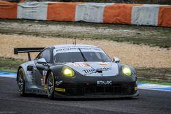 #88 Proton Competition Porsche 911 RSR: Gianluca Roda, Christian Ried, Benjamin Parker