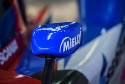 #9 Graff Racing, Ligier JS P3 - Nissan: Eric Trouillet, Paul Petit, Enzo Guibbert, mirror