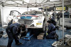 Rally Due Valli - Peugeot Sport Italia - Assistenza