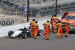 Kyle Kaiser, Juncos Racing, incidente
