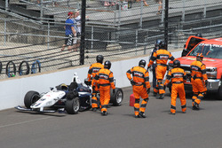 Kyle Kaiser, Juncos Racing crash