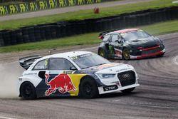 Mattias Ekström, EKS RX Audi S1, Petter Solberg, PSRX Citroën DS3 RX