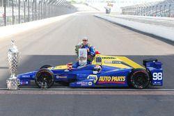 Indy-500-Sieger Alexander Rossi, Herta - Andretti Autosport, Honda