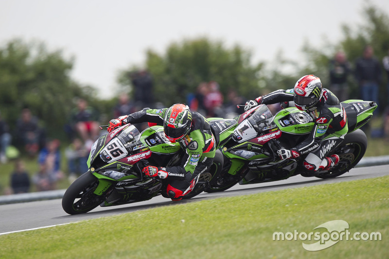 Tom Sykes e Jonathan Rea, Kawasaki Racing Team