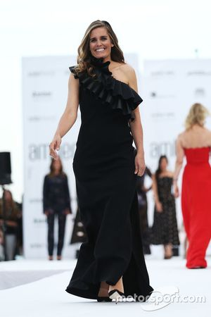 Maria de la Rosa, en el Amber Lounge Fashion Show