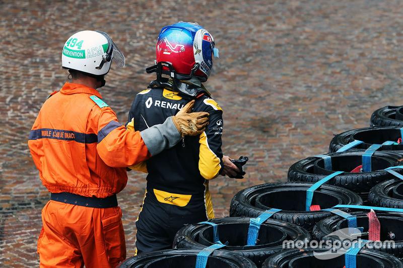 Monaco 2016 - Jolyon Palmer, Renault