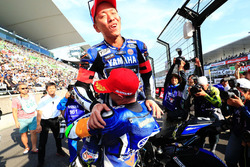 Ganador de la pole #21 Yamaha Factory Racing Team: Katsuyuki Nakasuga