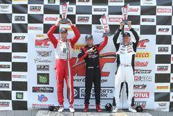 GTA podium: Michael Schein, second place Martin Fuentes, third place Michael McCann