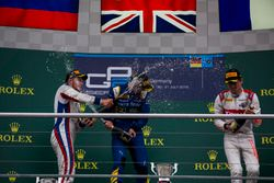 Alex Lynn, DAMS, Sergey Sirotkin, ART Grand Prix and Arthur Pic, Rapax