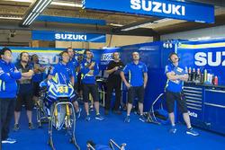 Le stand de l'équipe Suzuki