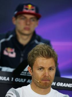 Nico Rosberg, Mercedes AMG F1 in de persconferentie