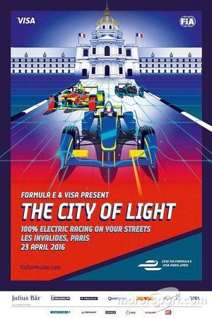 ePrix di Parigi, poster