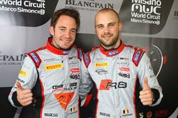 Pole-Position für #1 Belgian Audi Club Team WRT Audi R8 LMS: Frederic Vervisch, Laurens Vanthoor