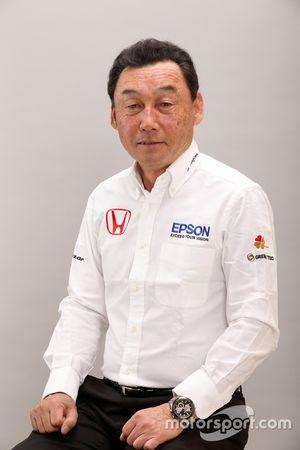 Satoru Nakajima, General Manager of Nakajima Racing