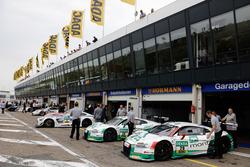 #28 Montaplast by Land-Motorsport, Audi R8 LMS: Christopher Haase, Frédéric Vervisch