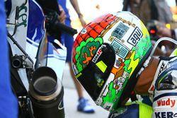 Special helmet design of Valentino Rossi, Yamaha