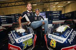 Loris Baz et Hector Barbera, Avintia Racing, Ducati